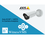 Axis ACAP + VAPIXIn-Camera Analytics